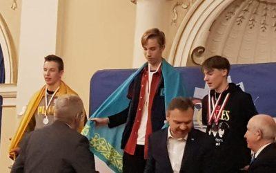 Wspaniała wiadomość! Bogdan zajął 1 miejsce w zawodach w short-track!