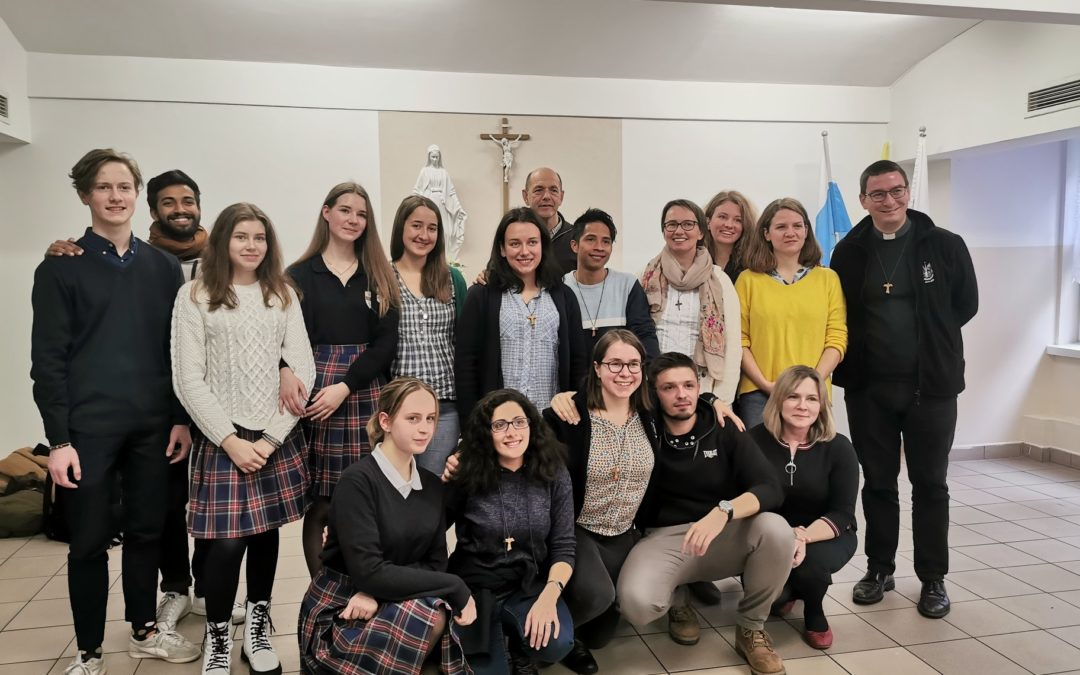 Goście zespołu z Emmanuel School of Mission (ESM) Rome