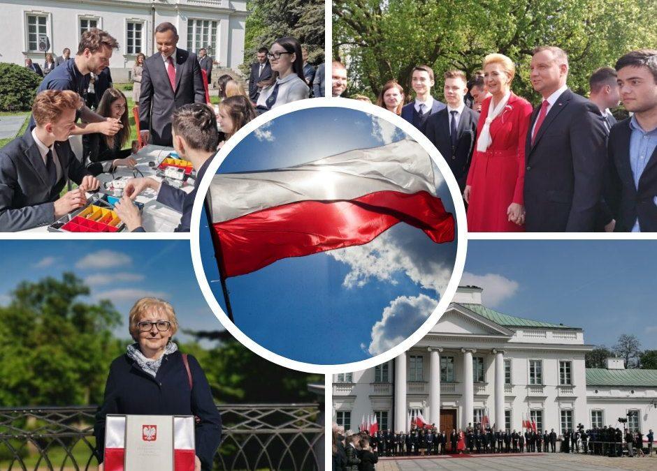 Wspomnieniami z Dnia Flagi oraz Dnia Polonii i Polaków za granicą
