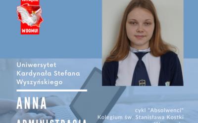 Ania została przyjęta na dwa różne kierunki, na dwóch warszawskich uczelniach. O…